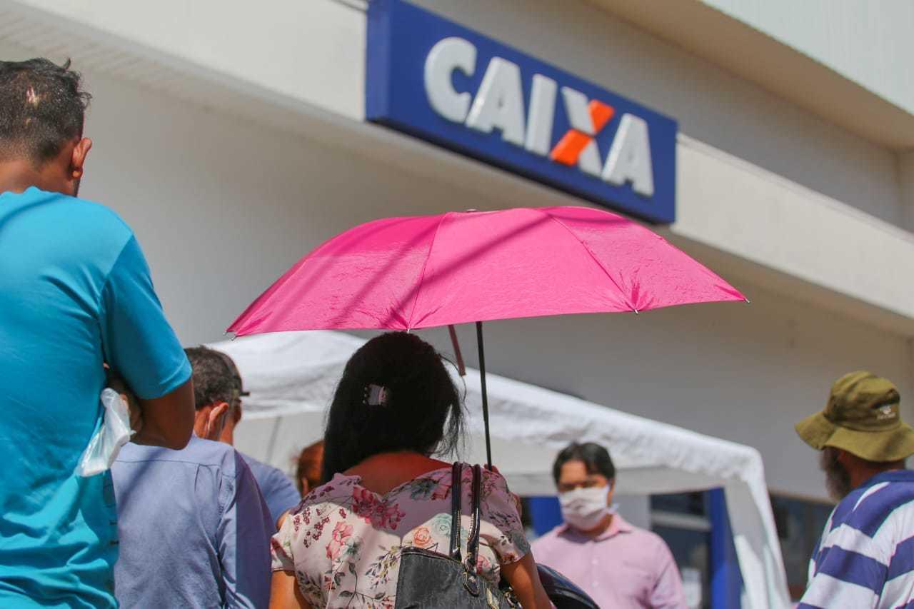 Caixa Econômica Federal abre nesta sexta-feira  novo ciclo de pagamento do auxílio emergencial. (Foto: Marcos Maluf)