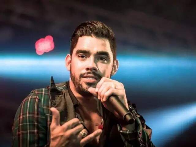 Gabriel Diniz se apresentou na Expogrande 2019, em abril do ano passado (Foto: Assessoria do artista/Divulgação)