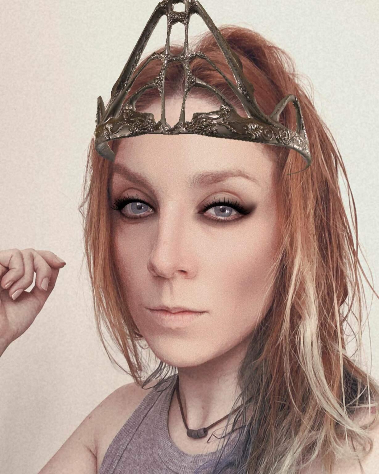 """Efeito inspirado na personagem Lagertha, da série """"Vikings"""" (Foto: Reprodução/Instagram)"""
