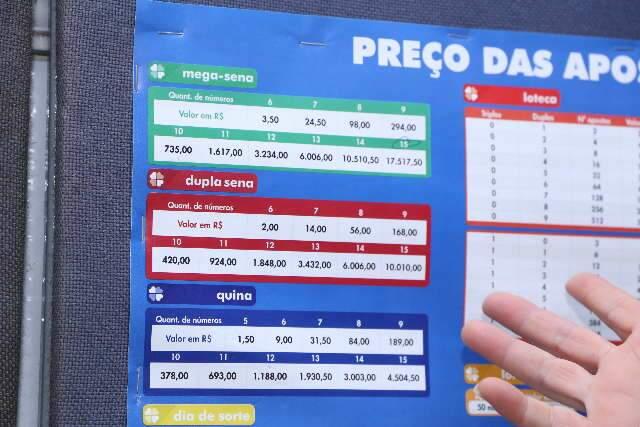 Último sorteio da Mega-Sena em outubro pode pagar até R$ 52 millhões