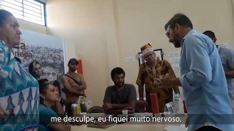 Assessoria divulga parte de vídeo editada de briga entre Pedro Kemp e candidata