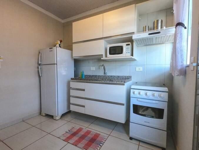 Cozinha com projeto moderno. (Foto: Divulgação)