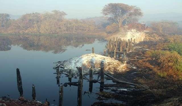 Governo vai reconstruir ponte destruída pelos incêndios em Corumbá