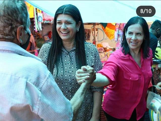 Contra decisão tucana, Rose faz campanha aberta para delegada