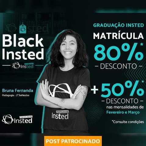 Só na Black November acadêmico ganha até 80% de desconto na matrícula