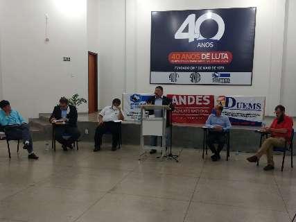 Bloco com perguntas de eleitores esquenta debate em Dourados