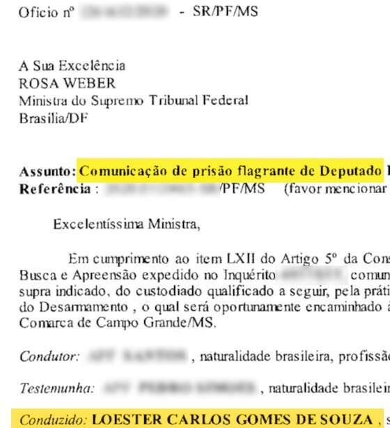 Prisão em flagrante foi comunicada pela Polícia Federal ao STF e Trutis só foi liberado depois que ministra mandou (Foto: Reprodução)