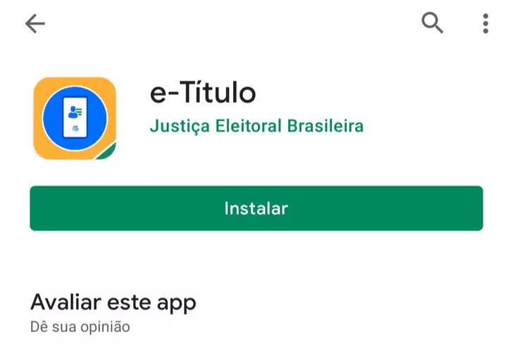"""Aperte em """"Instalar"""" para Android. (Foto: Reprodução Google)"""