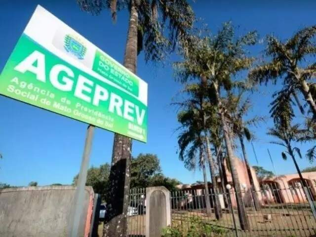 Sede da Ageprev, em Campo Grande (Foto: Divulgação - Ageprev)