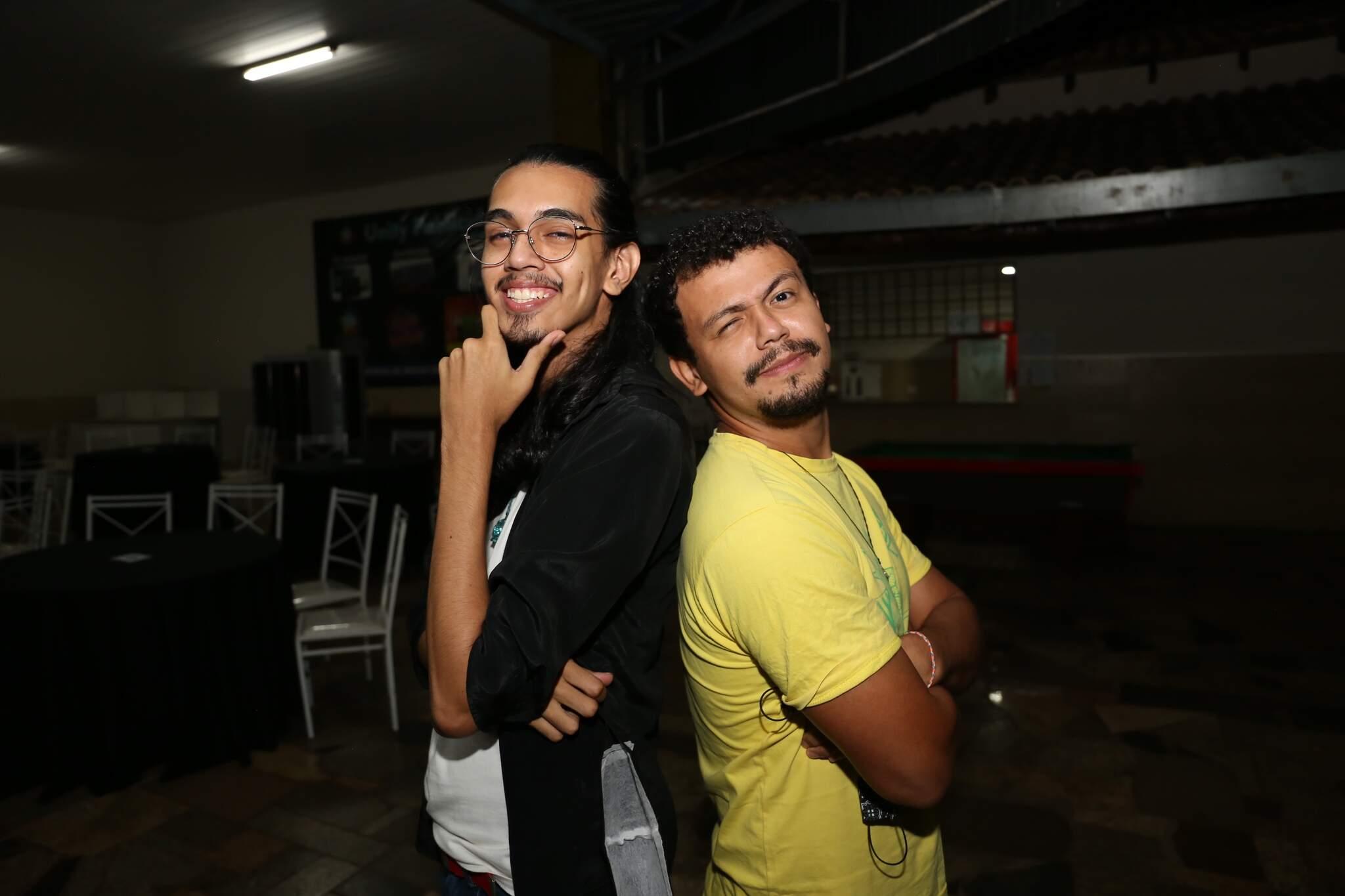 Yuri e Luciano (Foto: Paulo Francis)