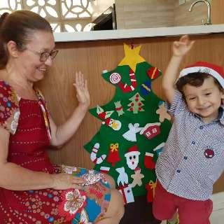 """Nargete faz árvore de Natal """"da moda"""" só para os pequenos"""