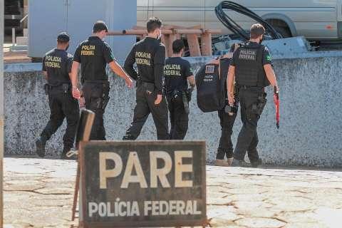 Em duas horas e meia, PF cumpriu mandados, mas sem prisões na Capital