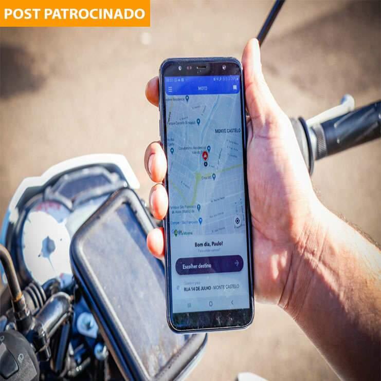 Nota 10 em entregas, aplicativo MOTO gera renda e apoia comércio
