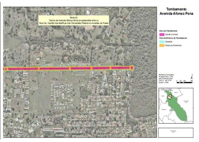 Decreto amplia área de tombamento da Avenida Afonso Pena