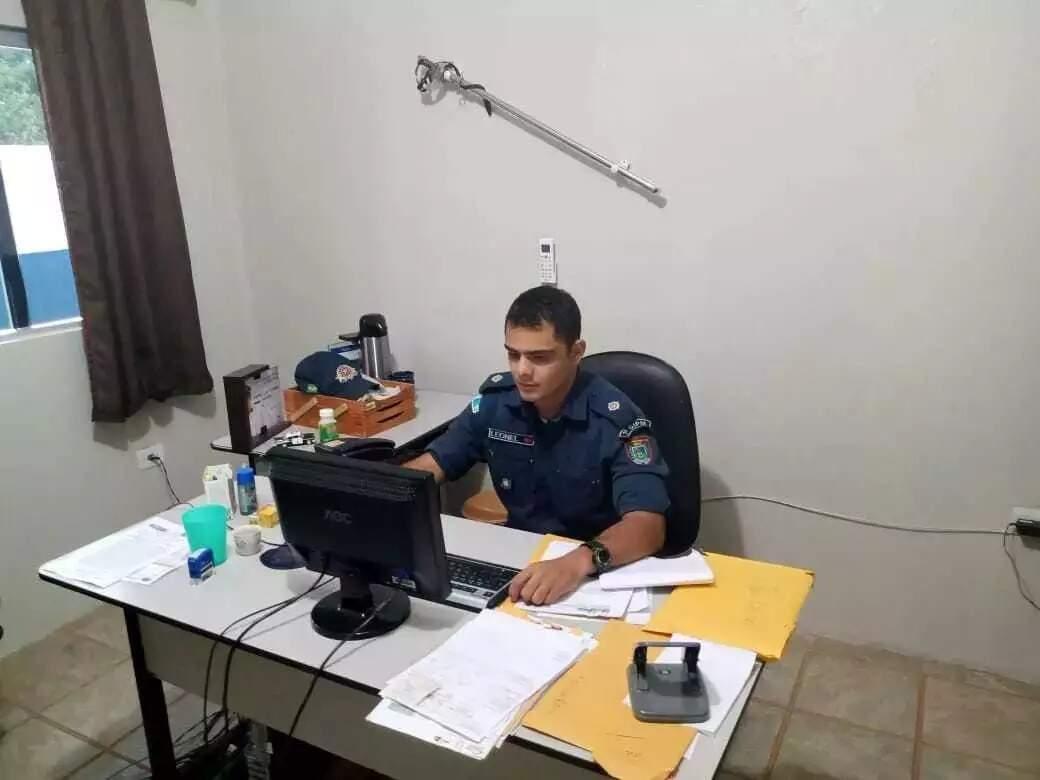 2º Tenente PM era comandante do 3º Pelotão da Polícia Militar de Bodoquena. (Foto: O Pantaneiro)