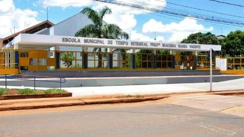 Escolas municipais de tempo integral abrem pré-matrícula com mais de 300 vagas