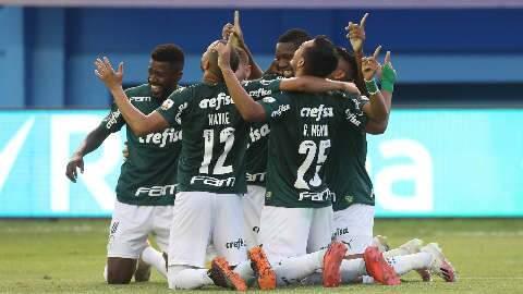 Palmeiras vence Delfín no Equador e encaminha vaga às quartas da Libertadores