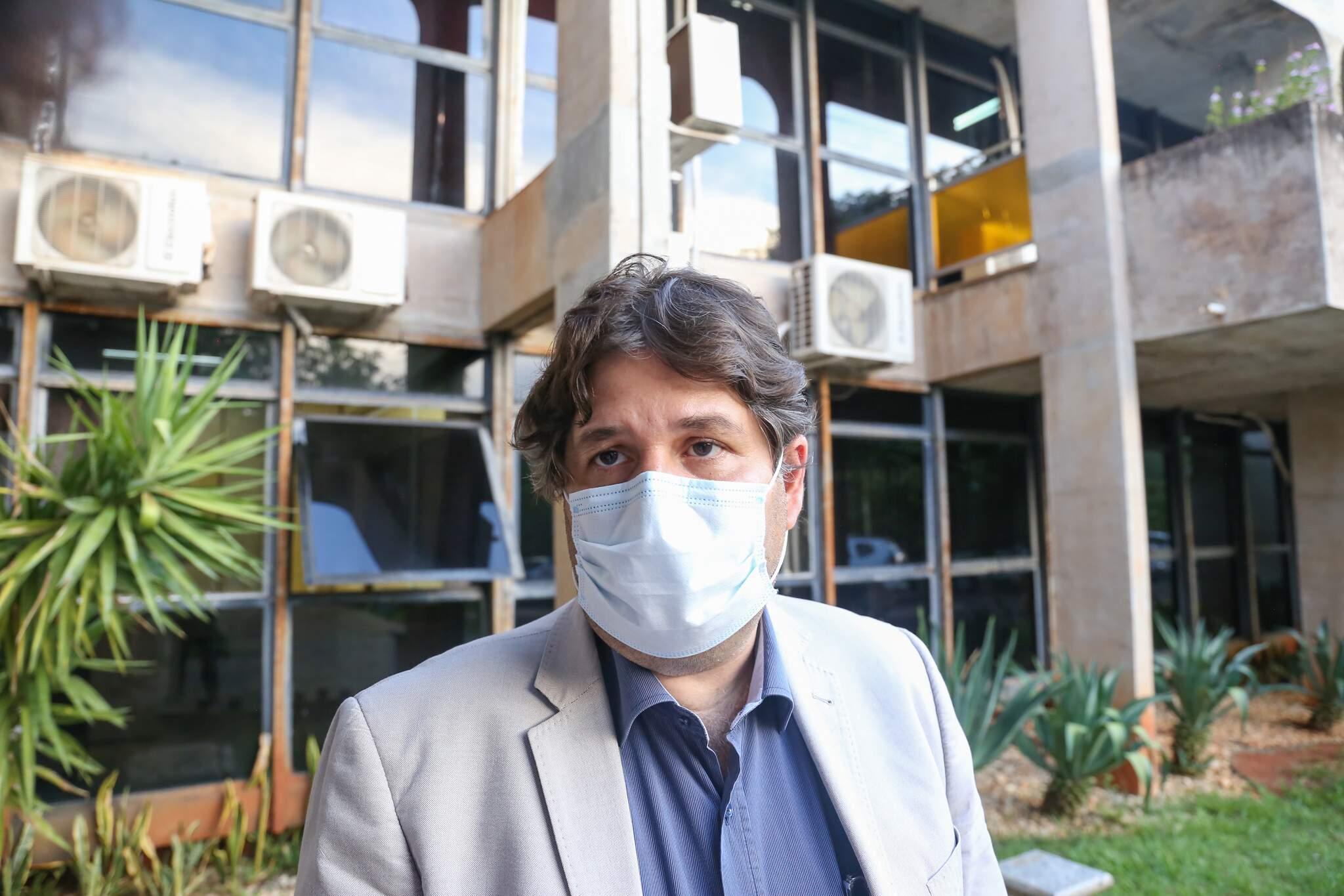 Secretário municipal de saúde, José Mauro Pinto de Castro Filho. (Foto: Paulo Francis)