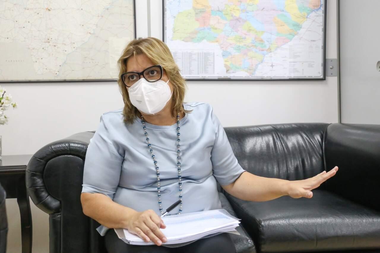 Christine Maymone, secretária-adjunta da SES pediu cautela a população. (Foto: Paulo Francis)