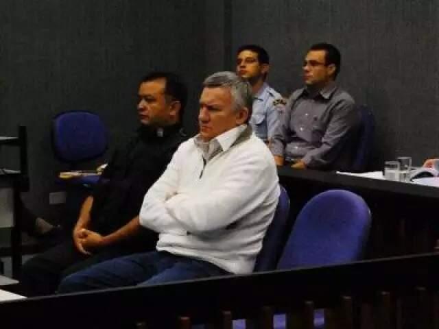 Imagem do ex-major em maio de 2011, quando foi julgado em processo derivado da operação Las Vegas (Foto: Francisco Júnior/Arquivo)