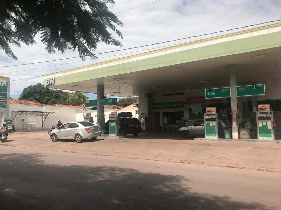 Auto Posto Ladário, empresa fornecedora de combustíveis para a prefeitura (Foto/Divulgação)