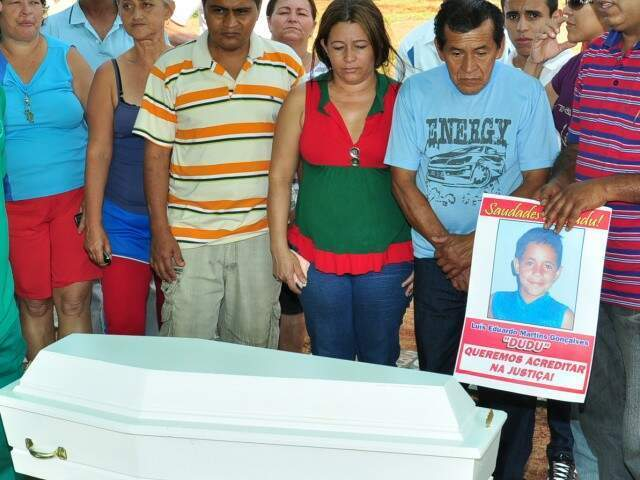 Desaparecido em dezembro de 2007, Dudu foi sepultado em dezembro de 2010 (Foto/Arquivo)
