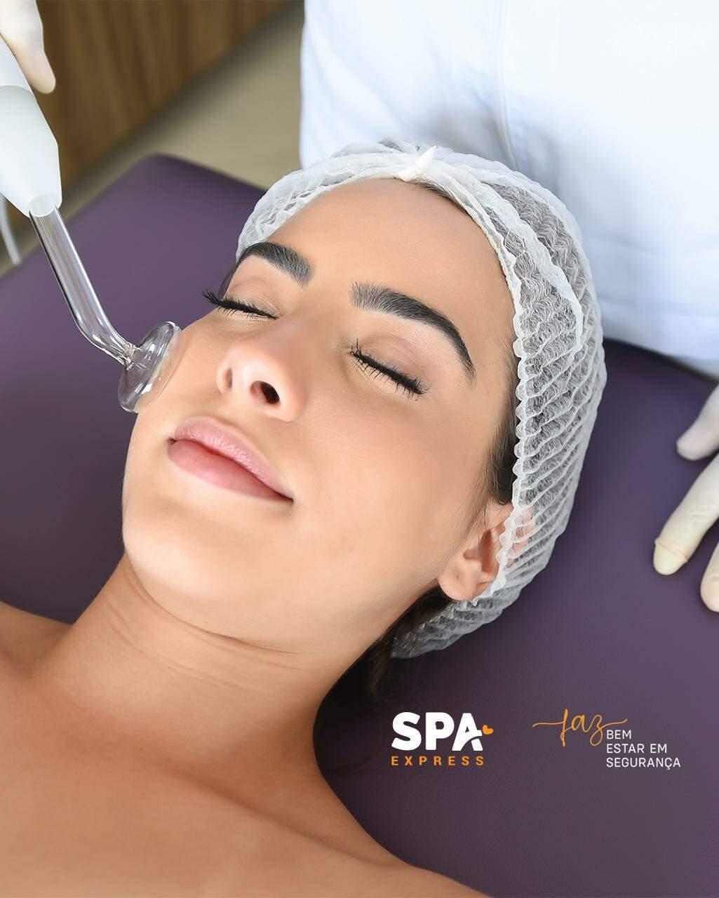 Spa Express leva o melhor em tratamentos faciais para sua casa. (Foto: Divulgação)