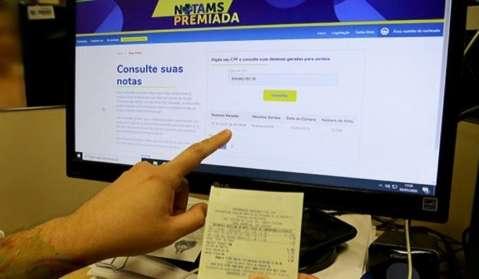 Três ganhadores levarão R$ 33,3 mil cada um pelo Nota Premiada MS