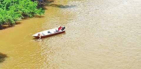 Corpo de jovem é encontrado boiando no Rio Aquidauana