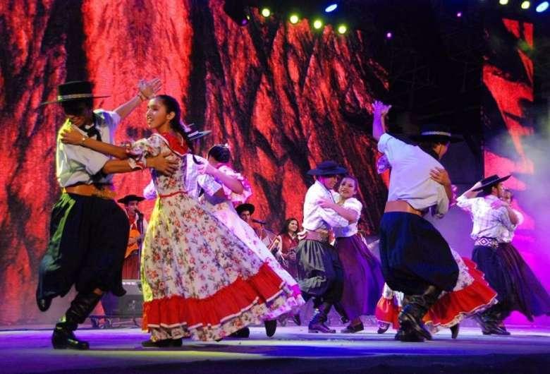"""Ano passado, evento foi presencial e reuniu muita dança e música """"chamamezeira"""" (Foto: Divulgação/FCMS)"""