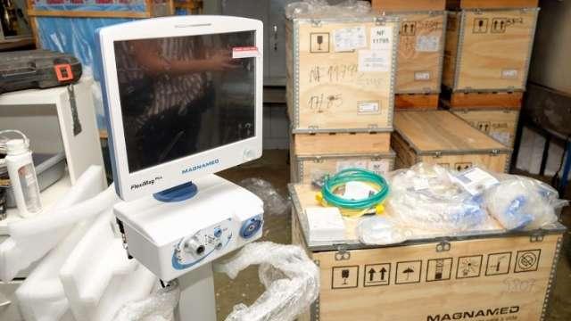 Prefeitura entrega respiradores para leitos de UTI do Hospital Regional