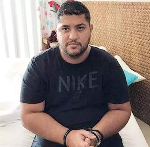 """""""André do Rap"""" algemado; ele fugiu do Brasil graças a habeas corpus (Foto: Aquivo do ABC Color)"""