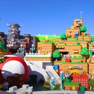 É louco por Super Nintendo World? Ele está cada vez mais sensacional