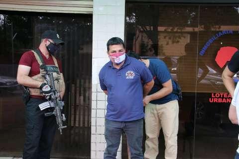 Fornecedor de armas para facção carioca é preso no Paraguai