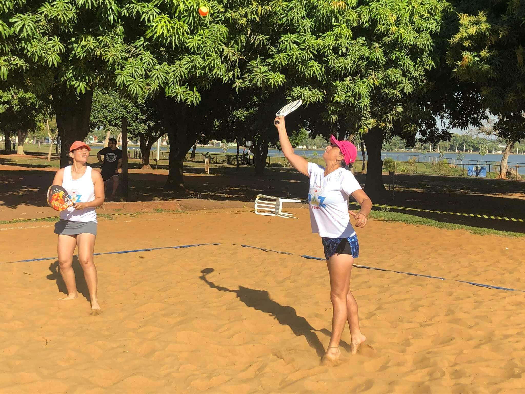 Jogadoras de MS durante disputa na Capital (Foto: Divulgação)