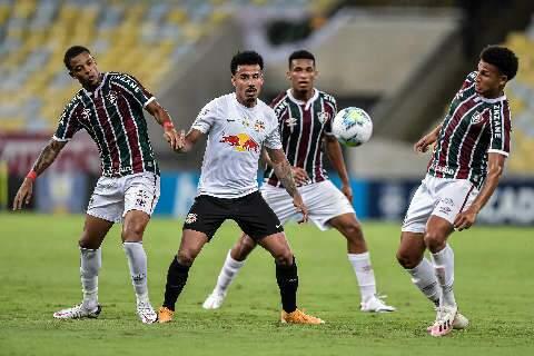 Fluminense só empata com o Bragantino em casa e perde chance de entrar no G4