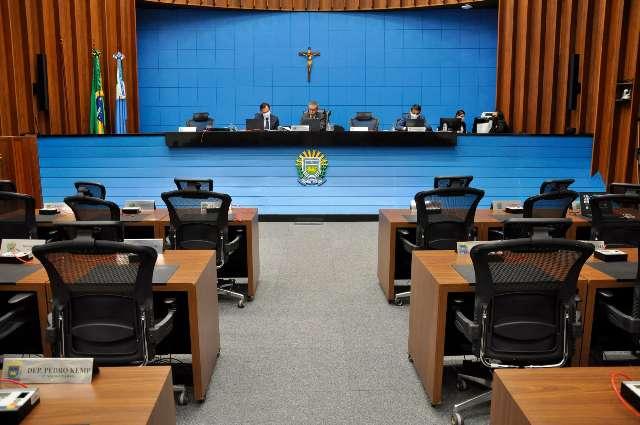 Assembleia vai até o fim do ano com sessões sem público