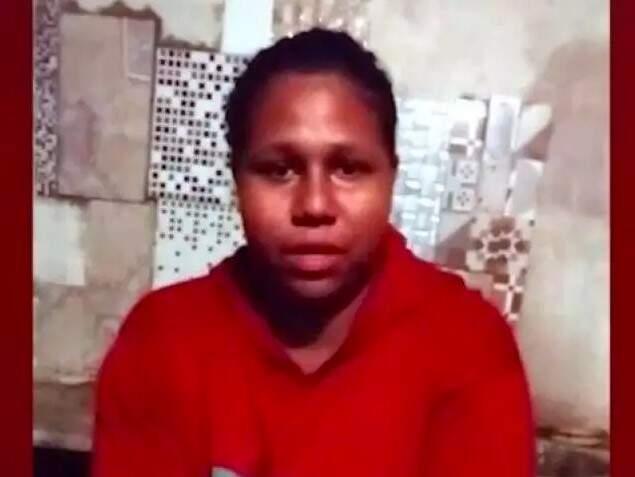 Joice Viana de Amorim foi obrigada a gravar vídeo, antes de ser assassinada (Foto/Reprodução)