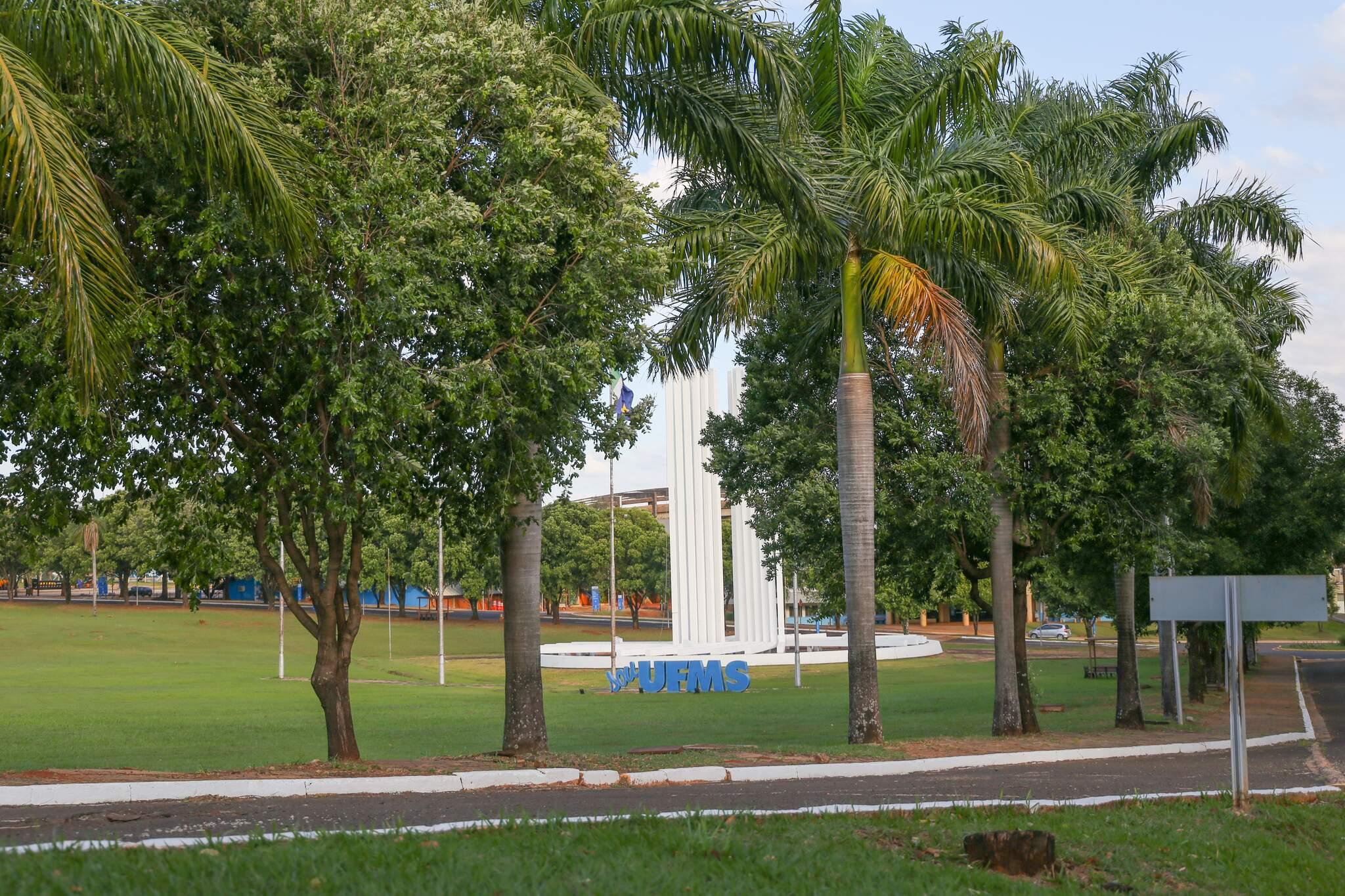 Campus da UFMS, em Campo Grande (Foto: Arquivo/Campo Grande News)