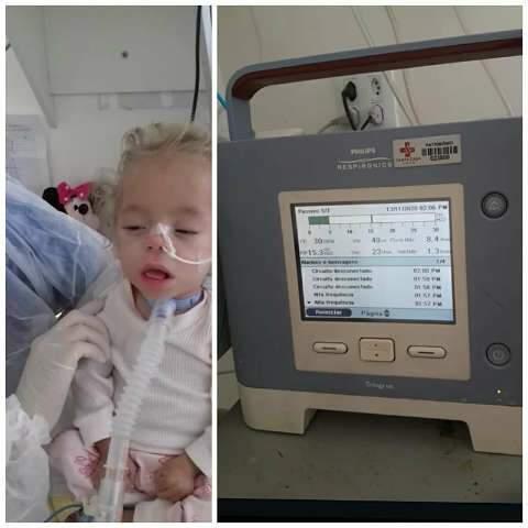 """Para filha deixar hospital, mãe cria """"vaquinha"""" na internet"""