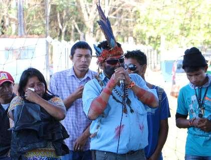 STF mantém preso cacique acusado de torturar policiais após morte do filho