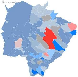 Com predomínio de centro e direita, veja como ficou o 'mapa político' de MS