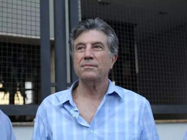 Vice-governador Murilo Zauith (DEM), durante entrevista (Foto: Arquivo - Campo Grande News)