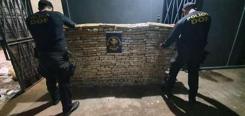 Traficante é preso com 1,2 tonelada de maconha que seria entregue na Capital