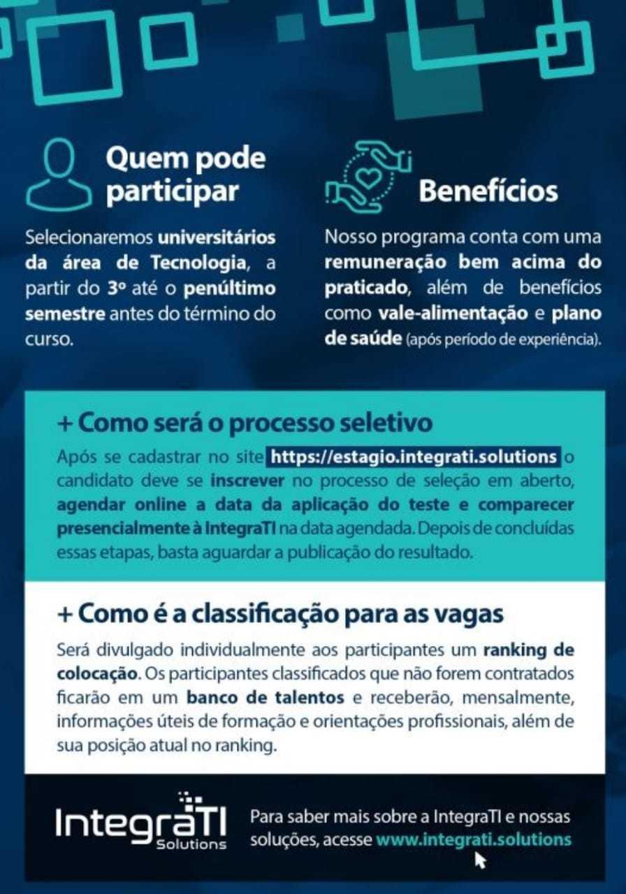 Venha fazer parte deste time (Foto: Divulgação).