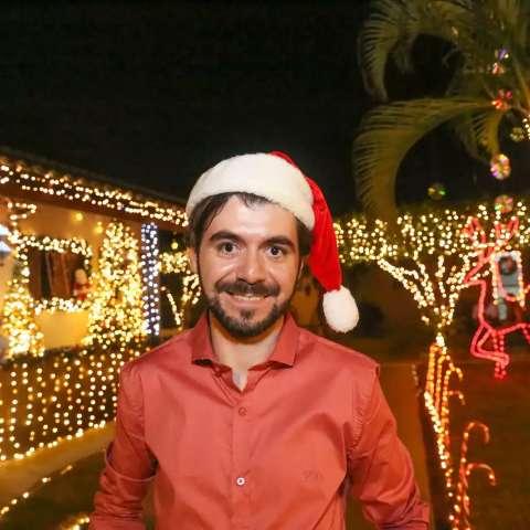 Surdez não impediu o brilho da decoração de Murilo falar mais alto