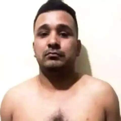 Ederson Salinas foi preso com arma de grosso calibre em briga de trânsito (Foto: Divulgação)