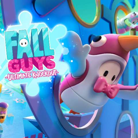 Um dos games do ano, Fall Guys deseja boas festas aos jogadores