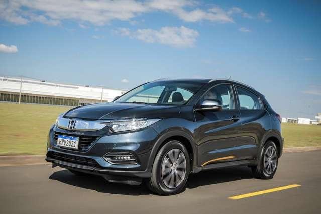 Honda apresenta a linha 2021 do HR-V
