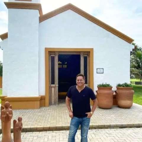No Pantanal, saudade fez surgir capela que encantou até Leonardo